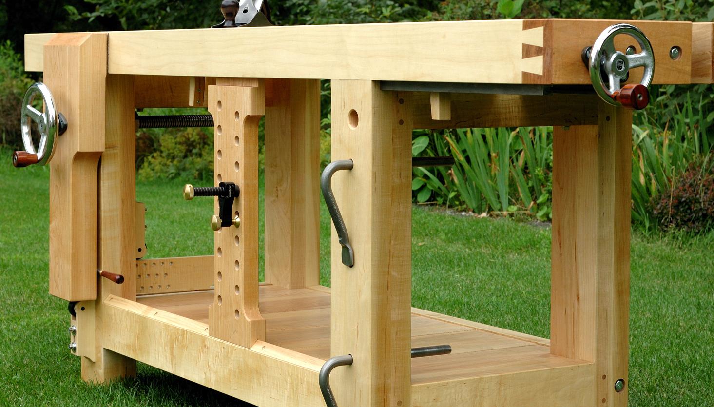Astounding Split Top Roubo Workbench The Wood Whisperer Guild Creativecarmelina Interior Chair Design Creativecarmelinacom