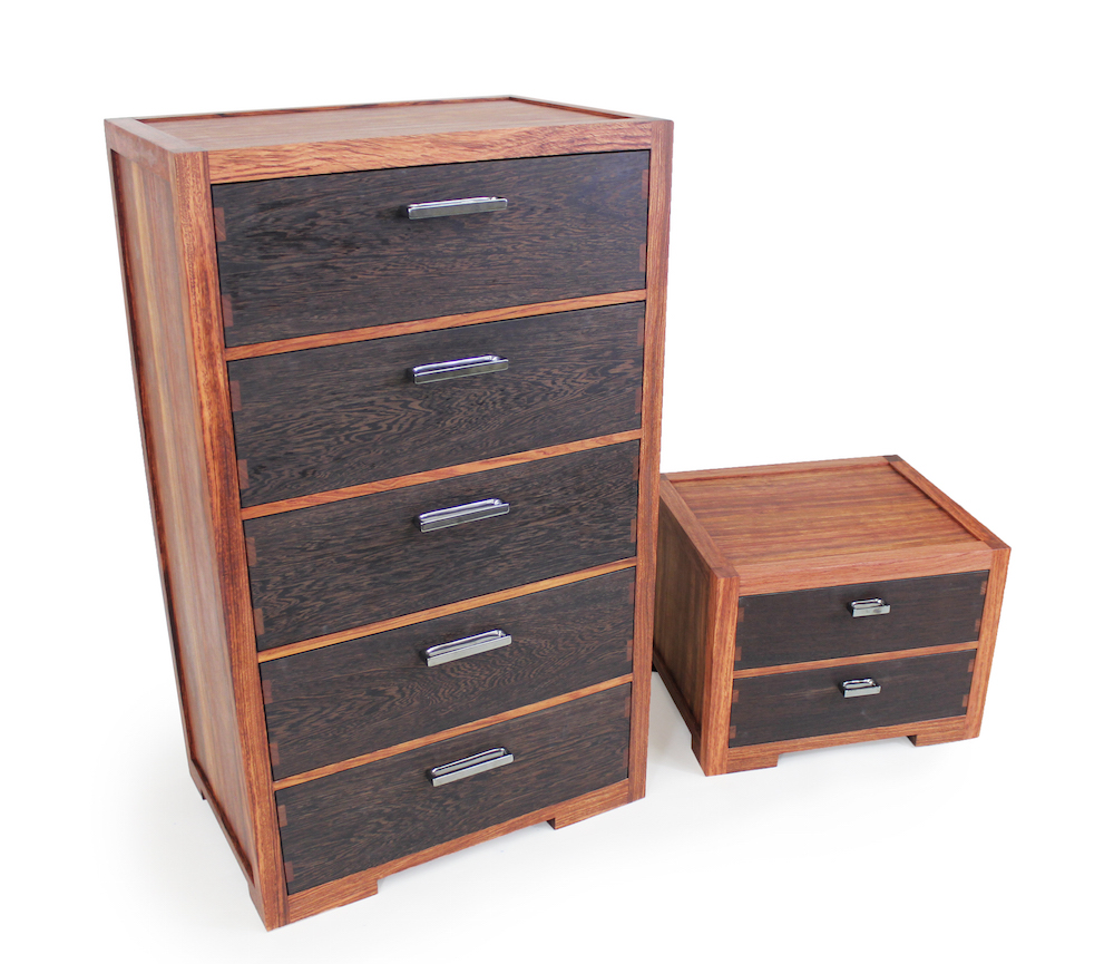 Modern chest of drawers nightstand the wood whisperer