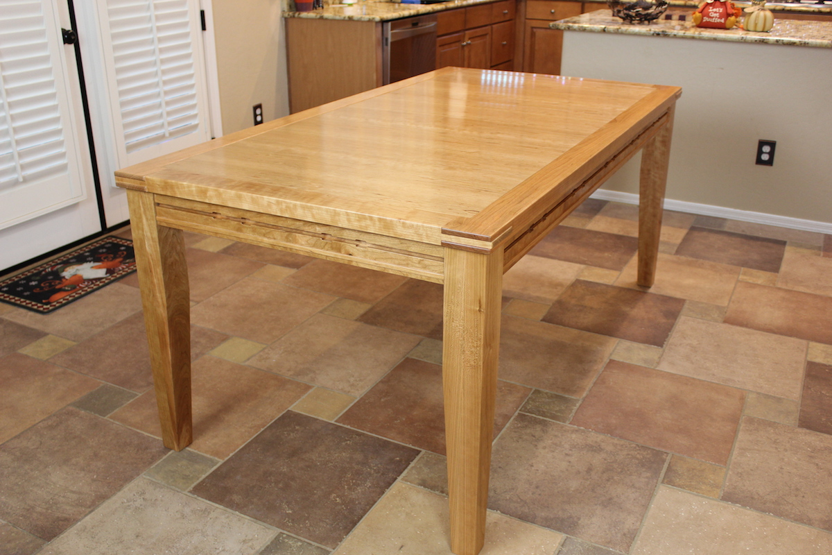 Gaming Dining Table The Wood Whisperer Guild - Dining-room-tables-plans