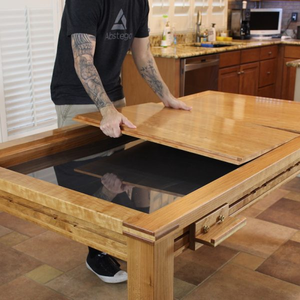 Beautiful DIY Game Table Stools  MyOutdoorPlans  Free Woodworking Plans And
