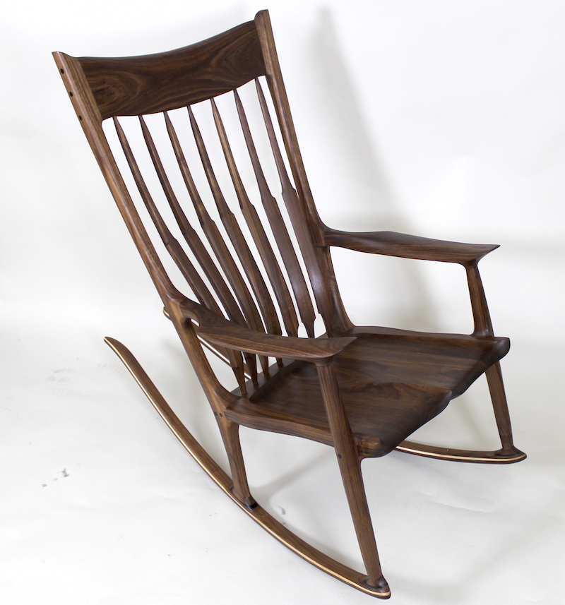 Terrific Sculpted Rocker The Wood Whisperer Guild Caraccident5 Cool Chair Designs And Ideas Caraccident5Info