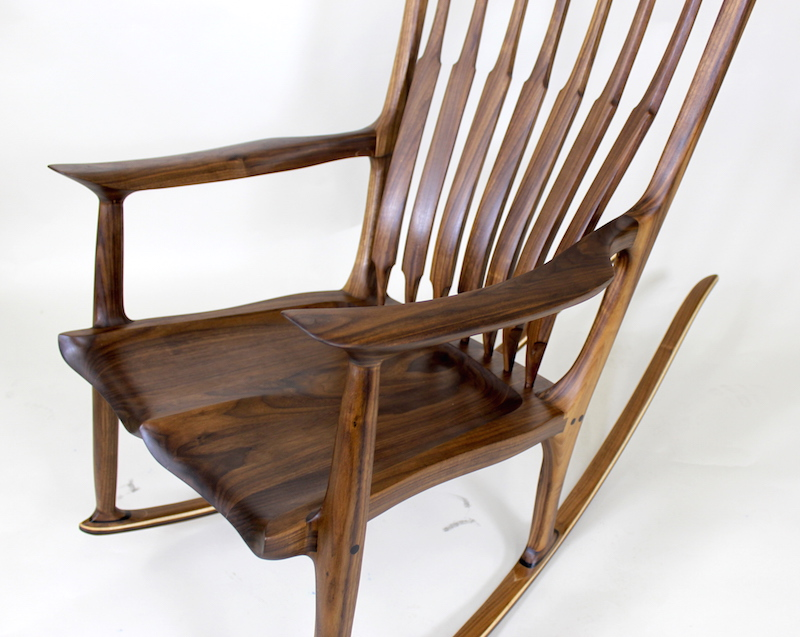 Sculpted Rocker - Famous Rocking Chairs - The Wood Whisperer Guild