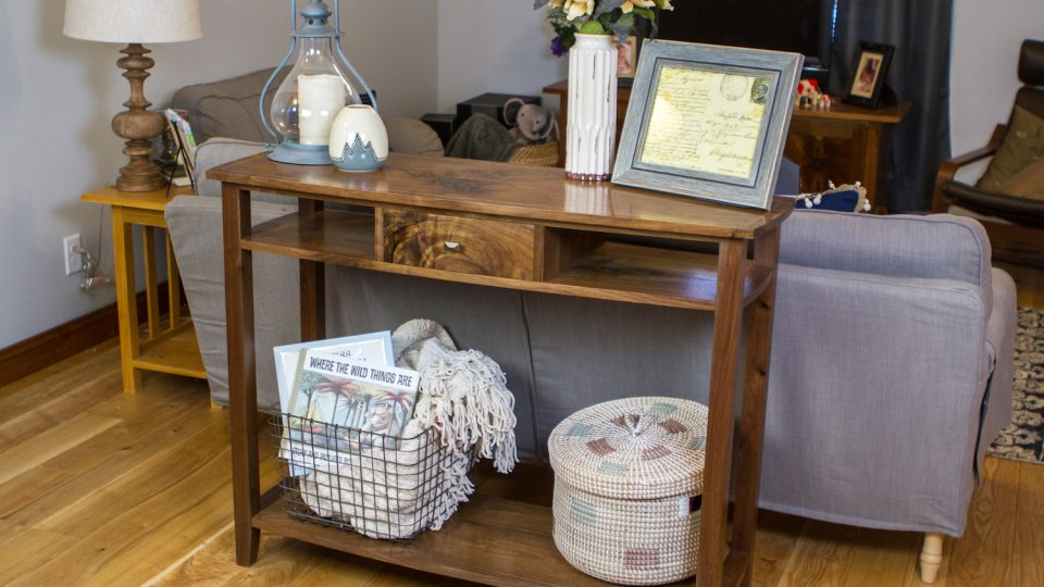 Fantastic Sofa Table The Wood Whisperer Guild Bralicious Painted Fabric Chair Ideas Braliciousco