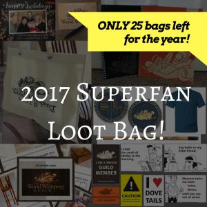 2017 Superfan Loot Bag