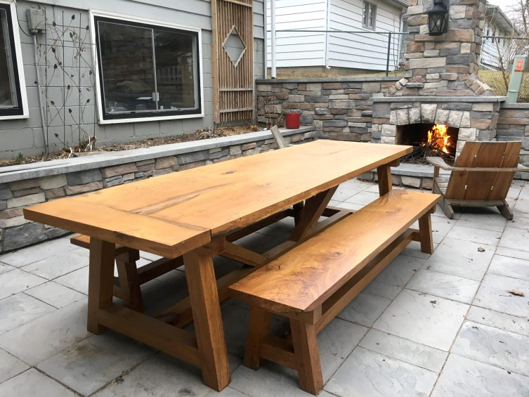 High Quality Farmhouse Table U0026 Benches