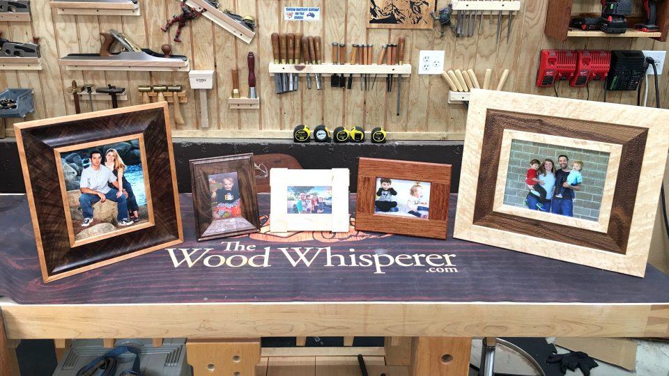 Picture Frames - The Wood Whisperer Guild