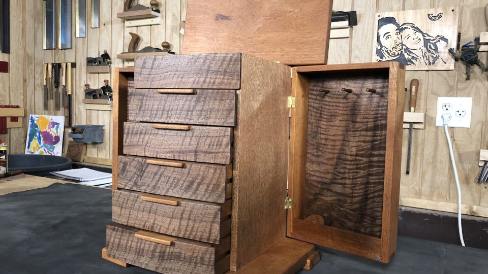 Jewelry Box The Wood Whisperer Guild, Jewelry Armoire Design Plans