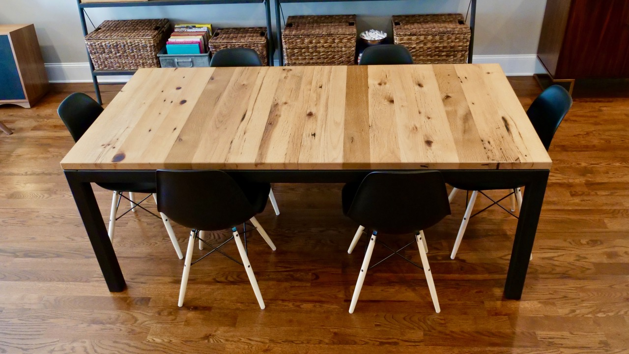 Parsons Style Extension Table The Wood Whisperer Guild