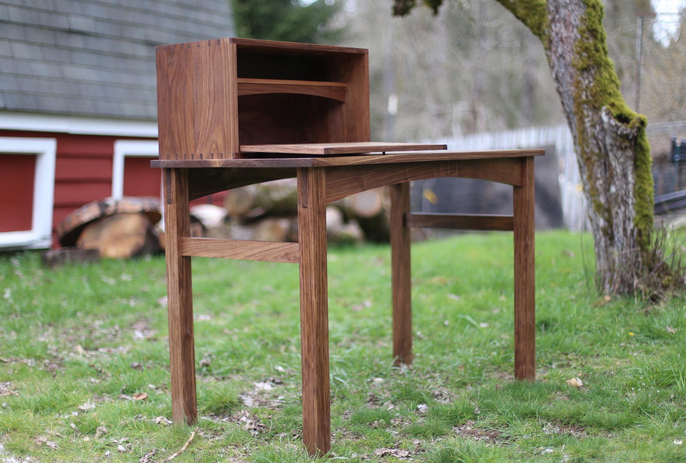 Writing Desk The Wood Whisperer Guild