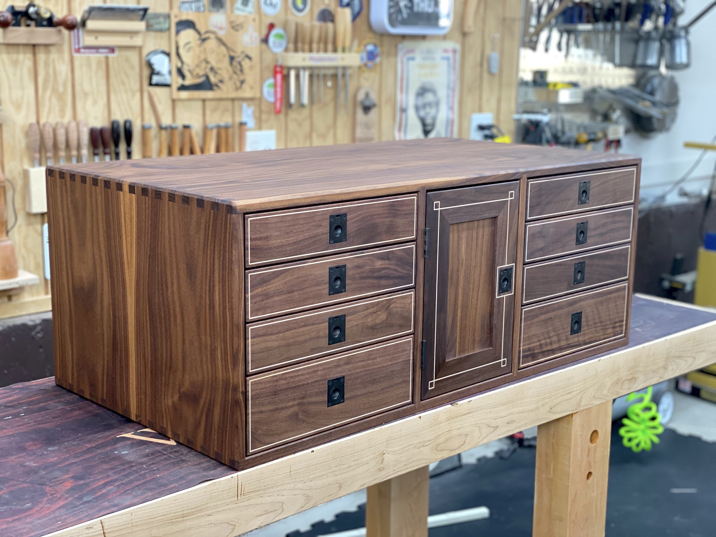 Brilliant Workbench Cabinet The Wood Whisperer Guild Pabps2019 Chair Design Images Pabps2019Com