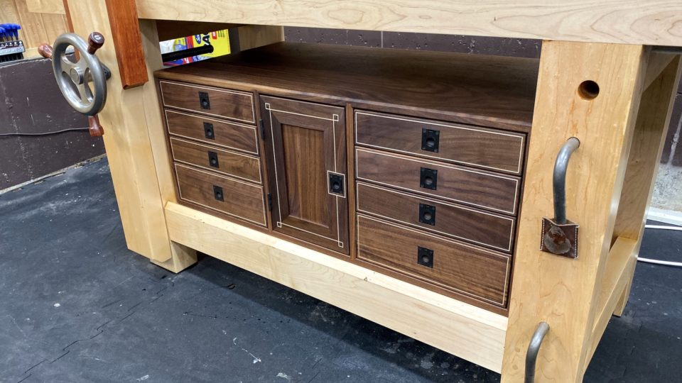 Enjoyable Workbench Cabinet The Wood Whisperer Guild Pabps2019 Chair Design Images Pabps2019Com