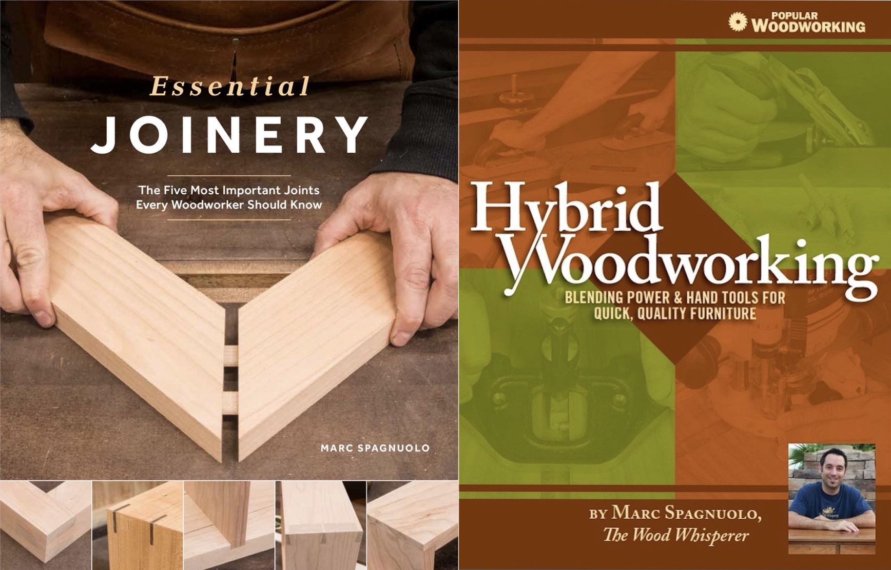 Essential Joinery Hybrid Woodworking Book Bundle The
