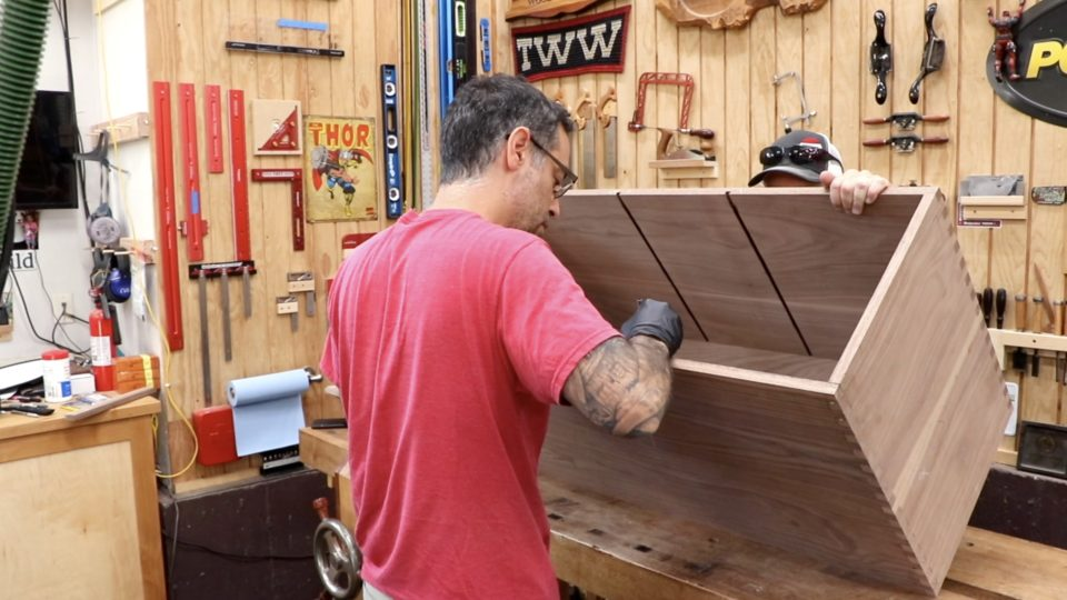 Awe Inspiring Workbench Cabinet The Wood Whisperer Guild Pabps2019 Chair Design Images Pabps2019Com