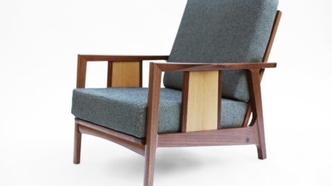 Morley Lounge Chair - Comfortable Chair - The Wood Whisperer Guild