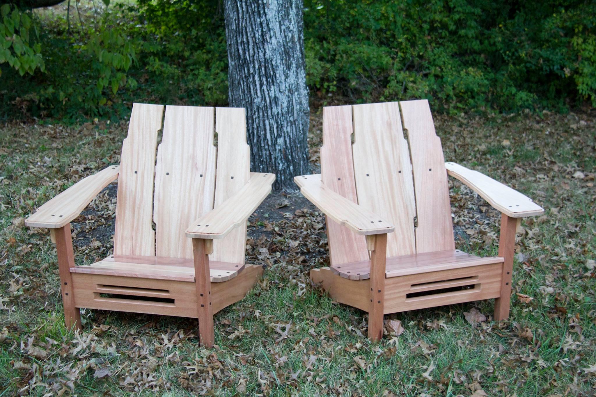 G&G Adirondack Chair – The Wood Whisperer Guild