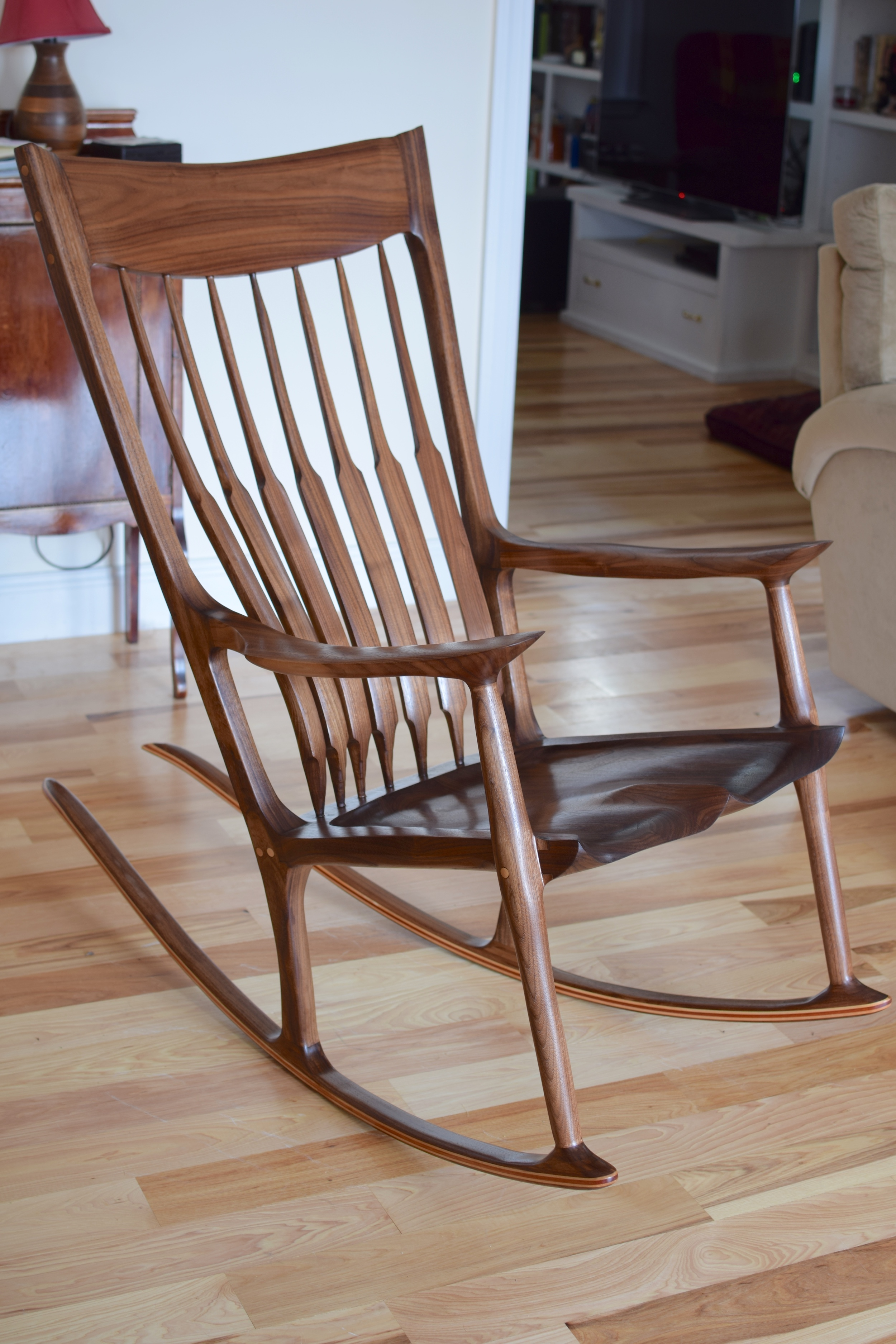 Astonishing Sculpted Rocker The Wood Whisperer Guild Caraccident5 Cool Chair Designs And Ideas Caraccident5Info