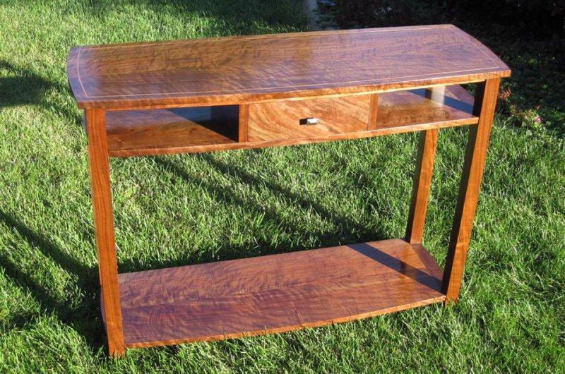 Sofa Table - The Wood Whisperer Guild